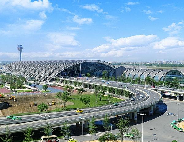 成都双流国际机场-橡塑保温管应用