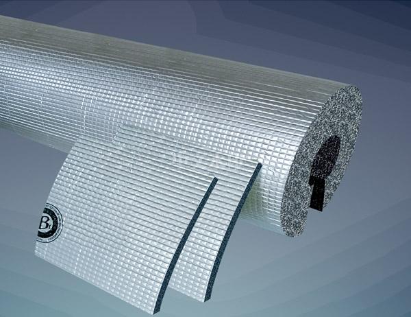 复合贴面橡塑保温管