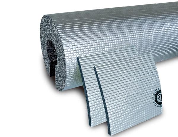 复合贴面橡塑保温板